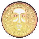 Medusa Coin paper plate #halloween #happyhalloween #halloweenparty #halloweenmakeup #halloweencostume
