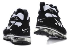 Nike Air Max Griffey Fury 1 black and white basketball shoes ...