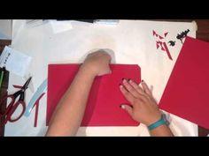 Envelope Punch Board file folder mini tutorial