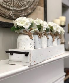 Excited to share this item from my shop: Custom Farmhouse inspired wood planter box, mantle decor, wedding decor, rustic wedding decor, centerpiece Large Wood Planter Boxes, Wood Planters, Wooden Centerpieces, Centerpiece Decorations, Planter Box Centerpiece, Spring Decorations, Easter Centerpiece, George Nelson, Plywood Furniture