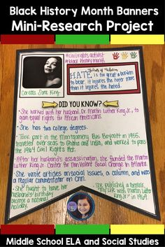 Are you looking for a meaningful Black History Month activity that will not only let your students have fun and show their creativity, but also requires them to conduct research and think critically? Look no further than the Black History Month Banners: Mini Research Project!