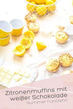 Zitronenmuffins mit weißer Schokolade I Nummer Fünfzehn