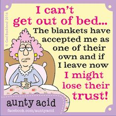Aunty Acid Comic Strip, March 23, 2016     on GoComics.com
