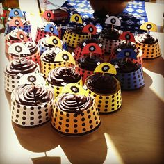 Dalek Cupcake Liners and Toppers