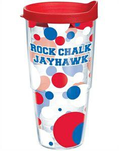 Rock Chalk Jayhawk Tervis