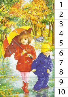 illustrations divers enfants 3 - Page 26 Umbrella Painting, Umbrella Art, Under My Umbrella, Four Seasons Art, Art Mignon, Rain Art, Creation Photo, I Love Winter, Love Rain
