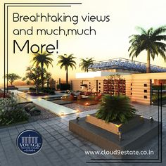 World-class amenities spread across 2.5 acre of 200 ft high #RooftopTerrace? #VoyageToTheStars has got you covered! For a full list of amenities. visit: http://www.cloud9estate.co.in/ #WorldClassLiving #PuneEstates #LuxuryEstates #PuneProperties