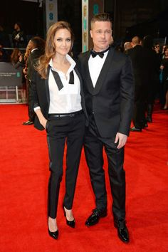 The 41 most stylish couples of all time: Angelina Jolie and Brad Pitt