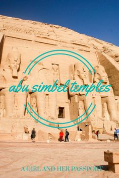Ramses the Great built two temples at Abu Simbel, Egypt and that is a feat in itself, but one of best stories about the Abu Simbel Temples is that it was moved from its original location.