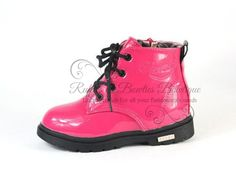 Hot Pink Martin Boots Babie/Toddlers