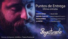 CURICO: Últimos Puntos de entrega en: @simonachalupatienda / @musicademia / @centroculturallamicro y #CoffeBreak en Montt #268