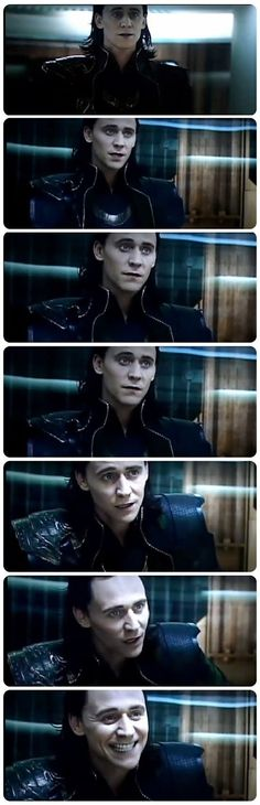 Loki, your Tom is showing...!
