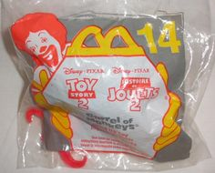 1999 Disney Pixar McDonald's Toy Story 2 Barrel Of Monkees Wind Up Toy #14 New #McDonalds