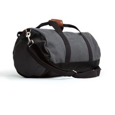 "My weekend bag... Grey ""Work Hard, Play Hard"" Duffel 