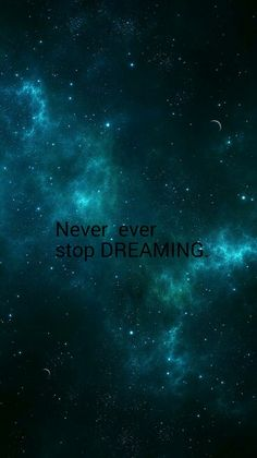 Dont ever stop! :) ~ Daffy :)