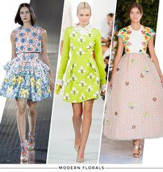 Spring 2014 Trend: Modern Florals | StyleCaster