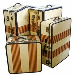 vintage luggage | On the Edge of Forever | Pinterest | Vintage ...