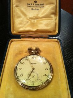 Alpina vintage pocket watch around 1930 by Alpina Watches, via Flickr
