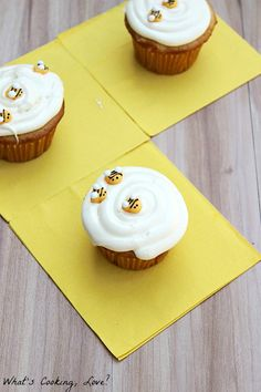 Honey Vanilla Cupcakes