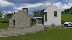 irish house designs split level the 1 will you sea views and housing s tural design winkens ture split S Tural Design DgalLower Killeens Oc Ts And. Split Level Home Designs, Split Level House Plans, Barn House Design, Dream Home Design, Bungalow Exterior, Dream House Exterior, House Designs Ireland, Dublin House, Cottage Extension