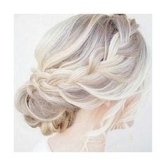 50 Cute and Trendy Updos for Long Hair ❤ liked on Polyvore featuring hair and hairstyles