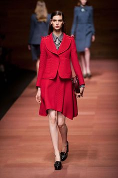 Carven Spring 2013 #PFW It's all about the Red. PattyonSite™