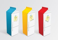 Milk Packaging Design Milk Packaging, Package Design, Design Ideas, Home Decor, Yogurt, Cheese, Dairy, Dairy, Decoration Home