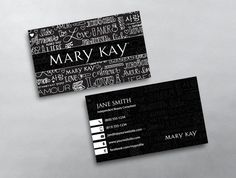 14 best mary kay business cards images on pinterest in 2018 mary kay business card 17 maxwellsz