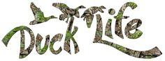 Camouflage Vinyl Duck Life Hunting Decal Sticker redneck hunter hunt  | LilBitOLove - Housewares on ArtFire