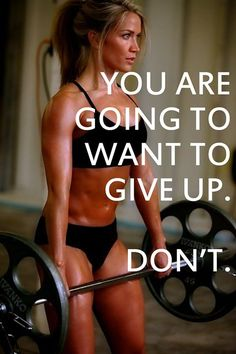 Keep pushing through... No matter what! #fitness #inspiration #fitspiration #exercise
