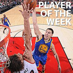 #Warriors guard Klay Thompson has been named the #NBA Player of the Week for the Western Conference. In three games last week, Klay averaged a league-leading 29.7 points, hitting 53.7 percent from the field, 45.5 percent from three-point range and 91.3 percent from the free throw line. The fourth-year guard helped the Warriors to a 3-0 record, giving the franchise its first 3-0 start to a season for the first time in 20 years (1994-95).