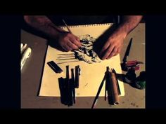 George Pratt: Materials for Pen and Ink - YouTube