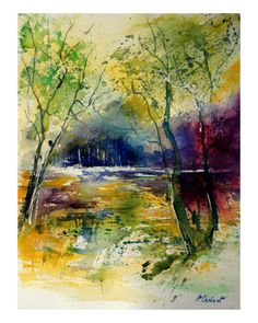 Watercolor 90801 Giclee Print by Ledent at Art.com