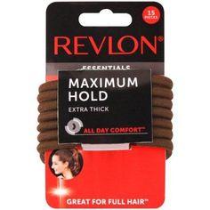 Full Hair, Revlon, Hair Ties, Mobile App, Hold On, Essentials, Day, Count, Walmart