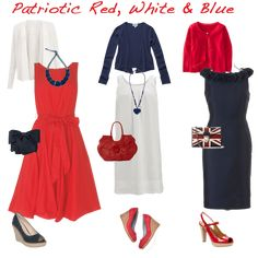What to wear red white and blue
