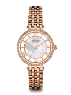 Caravelle New York Women's #44L171 Watch    Retail Price: $135.   In-stock watches are 30% OFF and catalog orders are 25% OFF!   Click website for watch details   Andrew Gallagher Jewelers, Newark, DE   302-368-3380   WE SHIP!!! DON'T FORGET! There is NO Sales Tax in Delaware!!!  