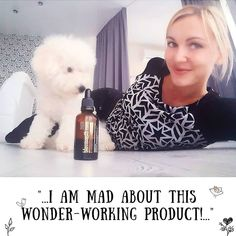 "Tatiana and her cute dog blossom together with 'blossomsib' Repost by @tatyana_repina_fh: ""I am mad about this wonder-working productby blossomsib.com! And my  too"" Review was translated from Russian  More reviews here:  #I_blossom  #reviews_blossomsib  #blossom #blossomsib #blossom_sib_eng  #health #healthylifestyle #detox #concentrate #cleanse #healthy #fitness #youth #beauty #stopaging #organic #natural #energy #wellness #joy #healthyliving #siberia #zeolite #propolis #reindeermoss…"