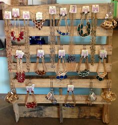 My DIY Jewelry Board #visualmerchandising project for #altardstate ©laurenhughes @Altar'd State