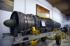 Pratt and Whitney TF-30-P5 Turbo Jet for F-14 Tomcats