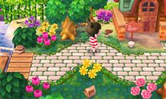 ricepopcrossing:  teddy's house is one of my favs in this whole game!!!!!! faunas is cute too