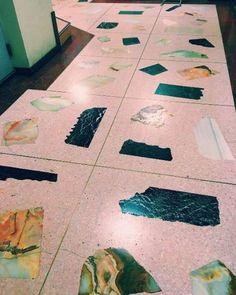 El terrazo: Tendencia en pavimentos para decorar interiores [FOTOS] - Terrazo de grano grueso