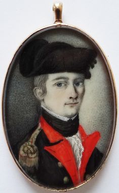 1776 Revolutionary War portrait