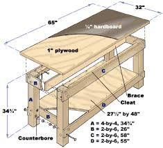 diy garage workbench - Google Search