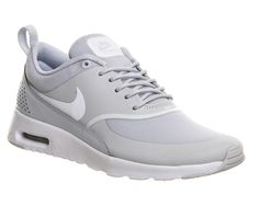 Buy Pure Platinum White Nike Air Max Thea from OFFICE.co.uk.