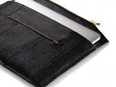 ORNO Luxus und Nachhaltigkeit - handgefertigte Taschen für Smartphone, Tablet und Notebook aus Lachsleder www.orno-design.de