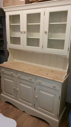 Beautiful dresser painted in Grand Illusions Vintage Paint colour calico