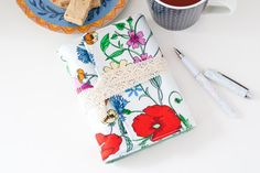 This floral journal is a wonderful place to jot down thoughts, ideas, lists, projects or travel stories. A small and cute journal that is great for drawing and sketching too. Bound with long stitch binding using durable linen thread allows the journal to lay flat when opened, making it so