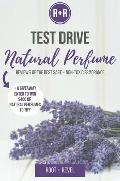 Swap toxic fragrance full of harmful chemicals for natural perfume, made with essential oils + pure botanical extracts. Here are the best natural perfumes.