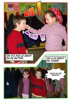 École Hivernerie élémentaire - Nos règles de vie (en images)
