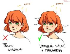 "Drawing Tips phaisty: "" Aha so I thought I'd make a post about some tips on shading? I originally made this for my Patreon but I made it available for everyone so might as well post it here too \o/ ""pillow. Digital Painting Tutorials, Digital Art Tutorial, Art Tutorials, Drawing Tutorials, Drawing Techniques, Drawing Tips, Drawing Sketches, Art Drawings, Learn Drawing"